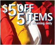Coupon dependable cleaners