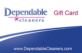 Dependable Cleaners Gift Card